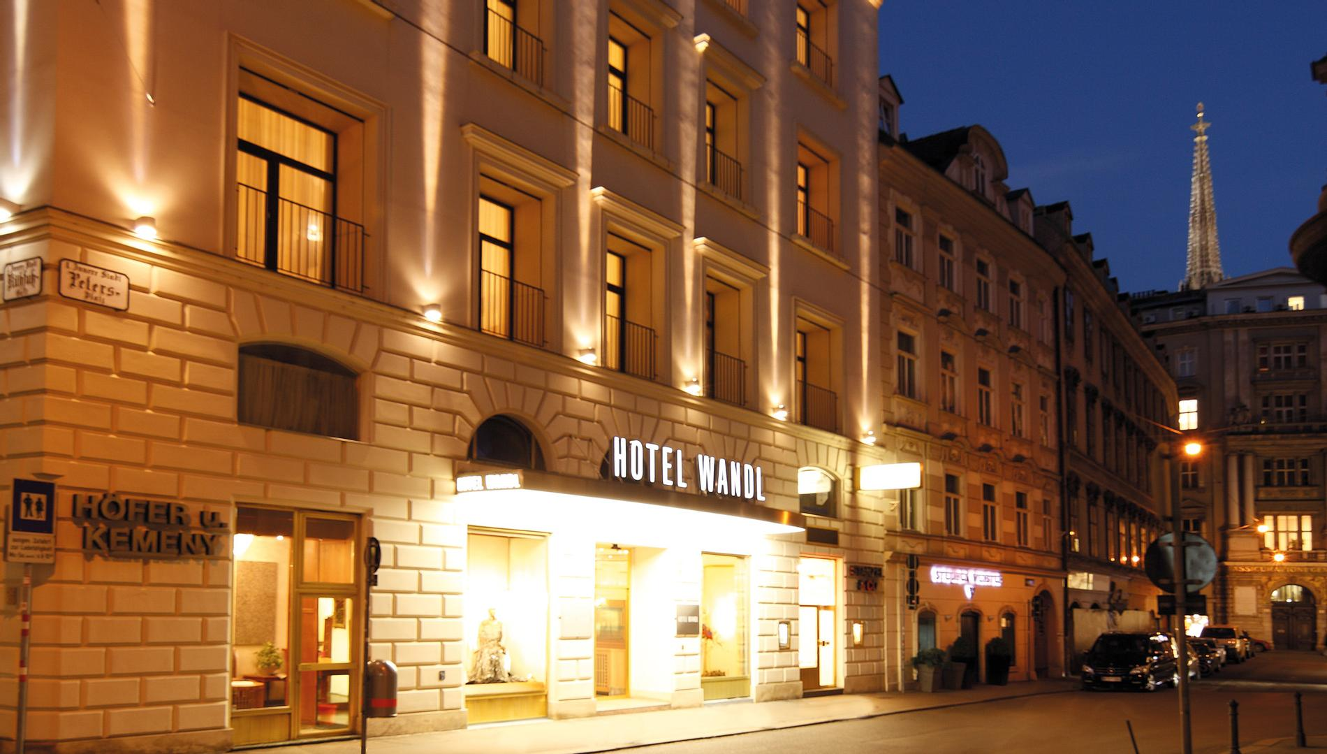 Hotel Wandl Vienna Welcome In The Heart Of